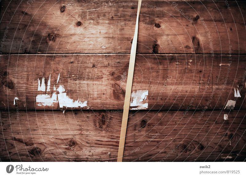 Anschnallpflicht Behälter u. Gefäße Holzkiste Güterverkehr & Logistik Gurt schließen Kunststoff dünn fest kompetent Sicherheit Zusammenhalt Verlässlichkeit