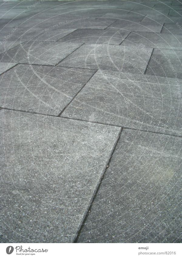 Kratzspuren weiß schwarz grau Stein Linie Ecke trist Bodenbelag Spuren Grafik u. Illustration Kurve graphisch Rechteck eckig Mineralien Bodenplatten