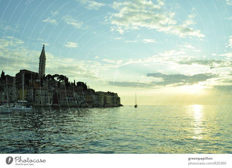 Abendsparziergang - Rovinj Kroatien Segeln Landschaft Sonnenaufgang Sonnenuntergang Frühling Sommer Herbst Meer Adria Mittelmeer Istrien Fischerdorf Hafenstadt