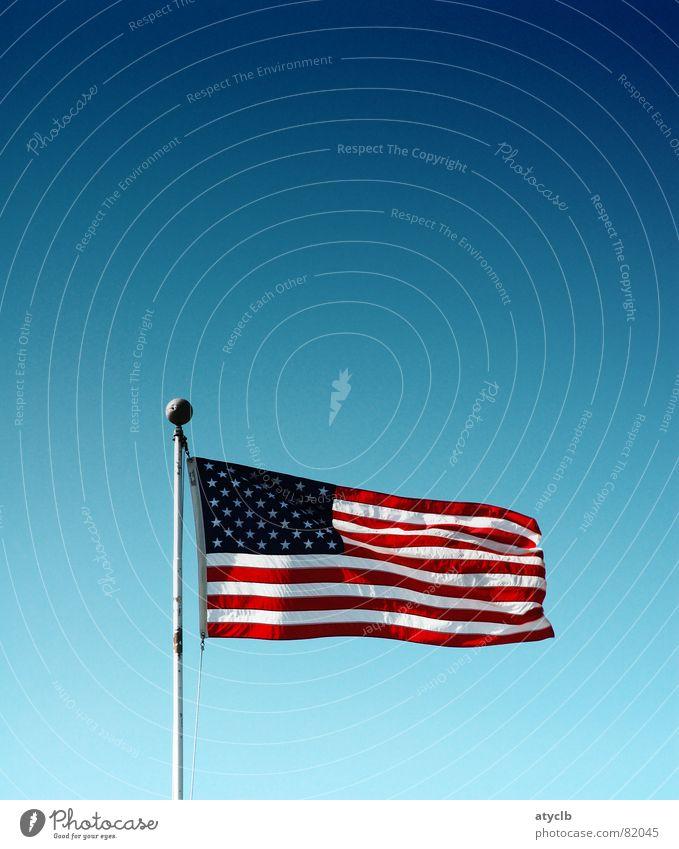Star Spangled Banner Himmel Streifen USA Fahne Amerika Stars and Stripes Kalifornien Firmament San Francisco