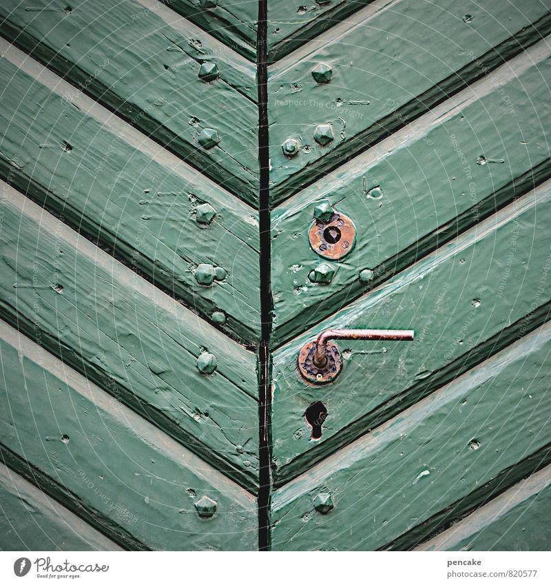 montags geschlossen Museum Altstadt Burg oder Schloss Gebäude Tür Sehenswürdigkeit Zeichen Senior ästhetisch Design geheimnisvoll Gelassenheit einzigartig