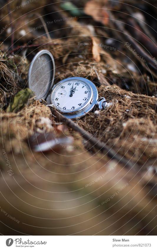 Diktatuhr Messinstrument Uhr Technik & Technologie Sicherheit geduldig ignorant Frustration Vergänglichkeit Eile Geschwindigkeit Chronograph 5 vor12 Stress