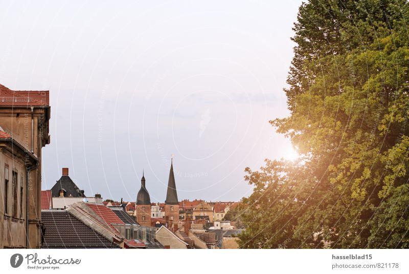 Skyline Ferien & Urlaub & Reisen Stadt ruhig Freude Ferne Architektur Lifestyle Feste & Feiern Freiheit Zufriedenheit Tourismus Fröhlichkeit Kirche Ausflug