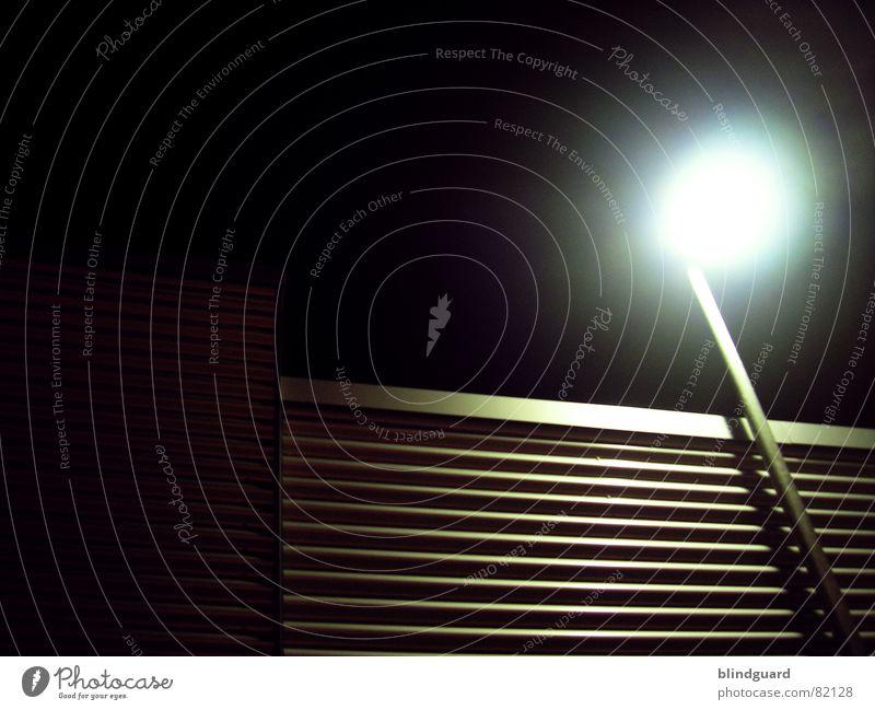 There Will Always Be A Light Lichthof Wellblech glänzend Gewerbe modern Aluminium Industrie Metall Strommast Linie Strukturen & Formen neuzeitlich