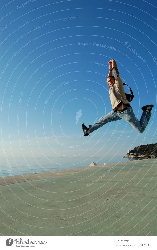 Jump springen Tanzen
