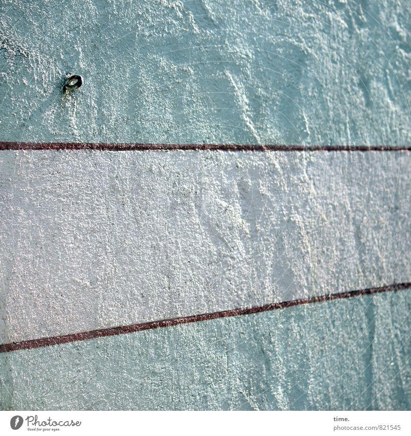 für was auch immer Stadt alt Wand Mauer Linie hell Fassade Ordnung elegant ästhetisch Perspektive Streifen Hilfsbereitschaft Neugier historisch trocken