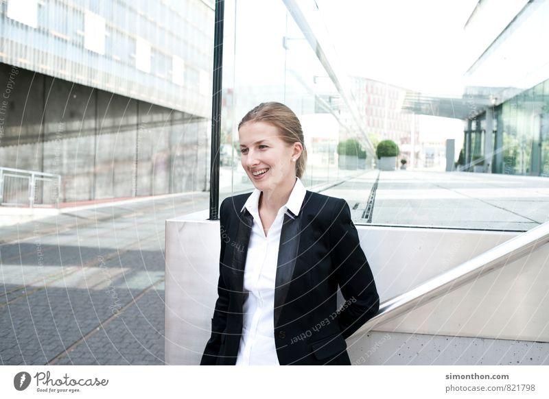 Business Freude Erwachsene feminin sprechen Glück Business Erfolg Industrie Netzwerk Bildung Team Sitzung Dienstleistungsgewerbe Beratung Wirtschaft Karriere