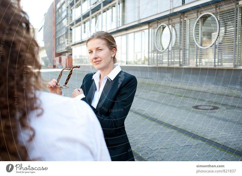 Zuhören sprechen Stil Business Kraft Zufriedenheit Erfolg Kommunizieren planen Ziel Bildung Team Vertrauen Sitzung Dienstleistungsgewerbe Stress