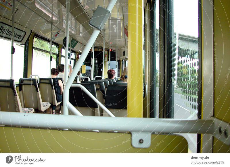Strabfahrt Mensch Menschengruppe Straßenbahn Würzburg
