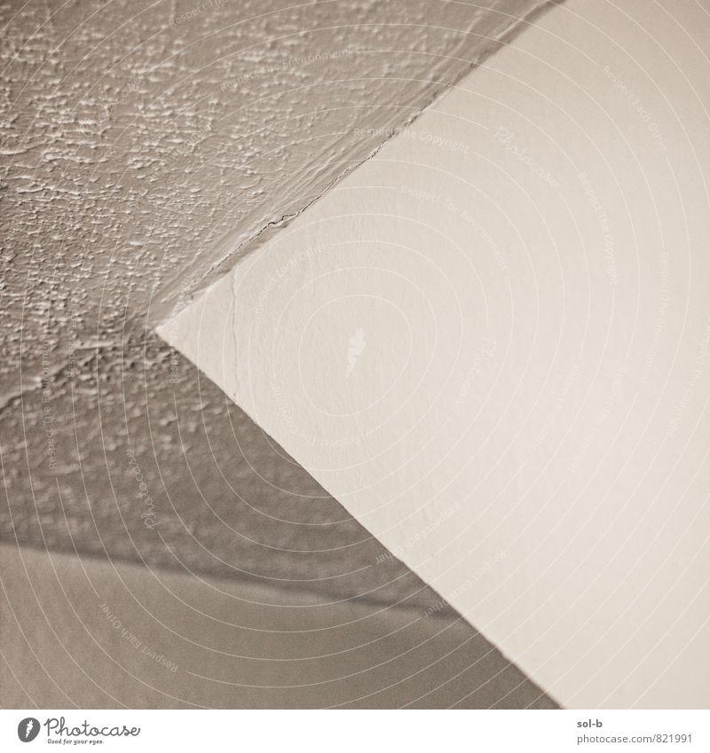 enveslope Häusliches Leben Innenarchitektur Raum Decke Architektur Mauer Wand Ecke ästhetisch eckig einfach Neigung Am Rand Farbfoto Innenaufnahme abstrakt