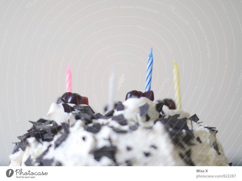 Monte Panna Lebensmittel Kuchen Speiseeis Süßwaren Schokolade Ernährung Essen Feste & Feiern Geburtstag lecker süß Schwarzwälder Kirsch Sahnetorte