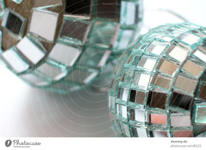 Home Disco Spiegel rund Makroaufnahme Nahaufnahme Kugel Glas reflektion
