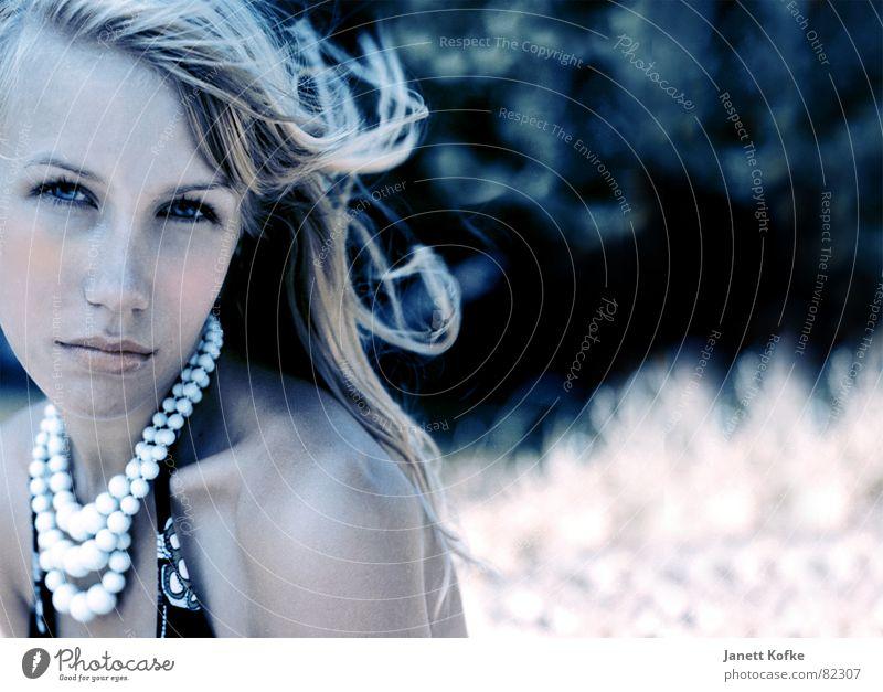 Anne Sommer Luft sonnenbräune Wind Haare & Frisuren Mode