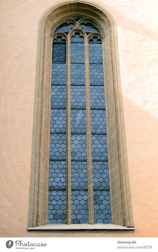 Kirchenfenster Fenster groß Würzburg historisch Religion & Glaube alt Baustelle hoch