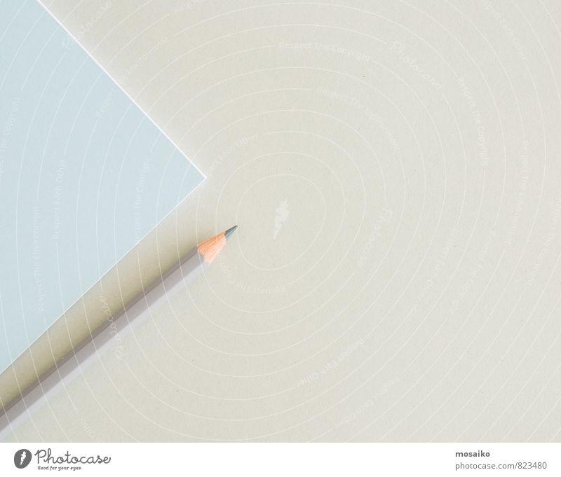 Papier und Stift Design Bildung Wissenschaften Erwachsenenbildung Schule Büro Business Unternehmen Karriere Erfolg Sitzung Arbeit & Erwerbstätigkeit lernen blau