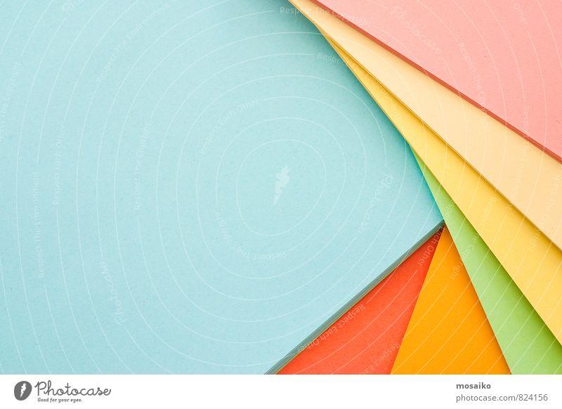 Papierbögen Kind Stil Linie Feste & Feiern Schule Arbeit & Erwerbstätigkeit Freizeit & Hobby Büro elegant Design lernen Idee Bildung schreiben Beruf