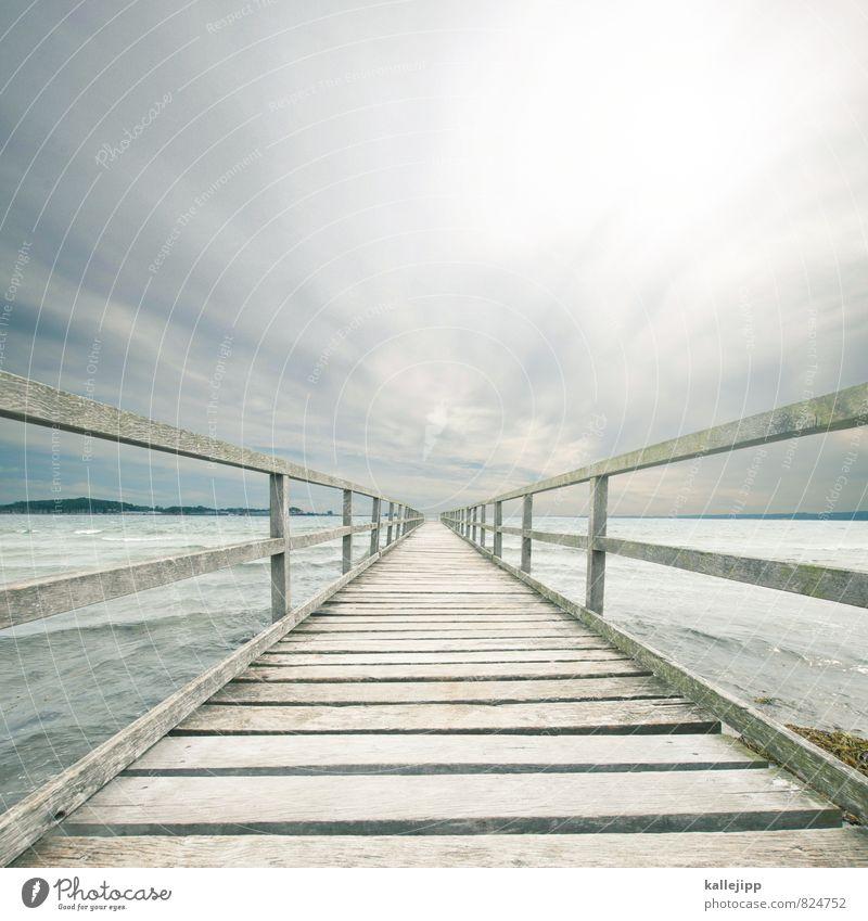 wo das meer am tiefsten ist Natur Meer Landschaft Umwelt Küste Wege & Pfade Horizont Wetter Lifestyle Wellen Klima Zukunft Brücke Bucht Ziel Ostsee