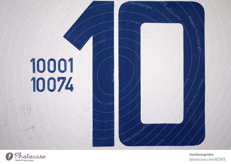 10001 - 10074 blau Wand Mauer KFZ Schriftzeichen Ziffern & Zahlen Flughafen Hinweisschild Etage Typographie Fahrzeug parken 6 Parkhaus Text