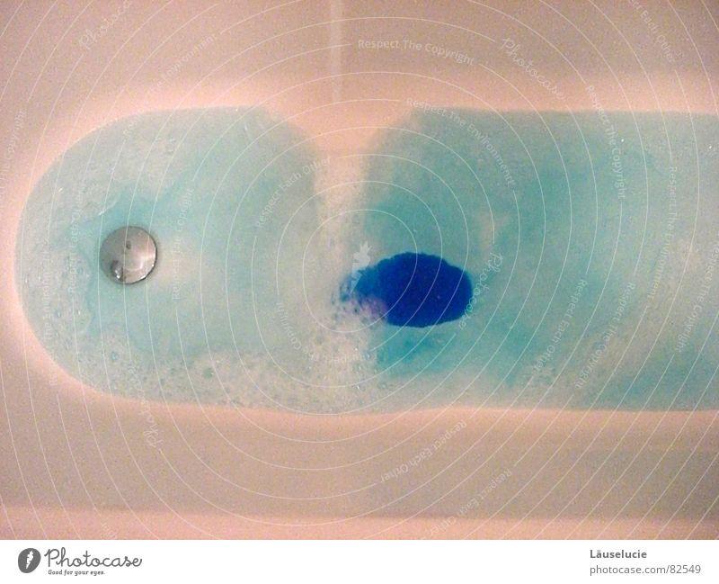 badetag! blau Wasser weiß Badewanne heiß Schaum Kapitän Badeschaum