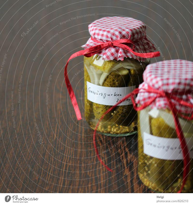kost.bar | ...nach Omas Rezept. schön grün weiß Gesundheit außergewöhnlich braun Lebensmittel Dekoration & Verzierung Glas stehen frisch ästhetisch genießen