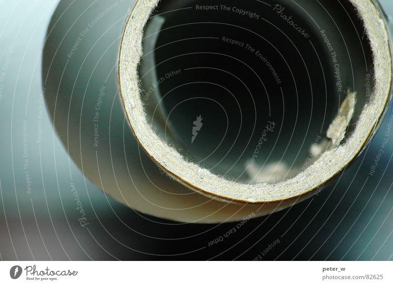 Transparentpapier Rolle Papier Durchblick rund dünn Höhle Faser Ecke blau-grün abstrakt Spirale Nautilus zeichnen durchscheinend technisches zeichnen pauspapier