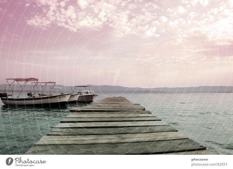 The Lightness Of Being Wasser Himmel Meer Sommer Strand Ferien & Urlaub & Reisen ruhig Wolken Einsamkeit Ferne Erholung Freiheit träumen See Wärme