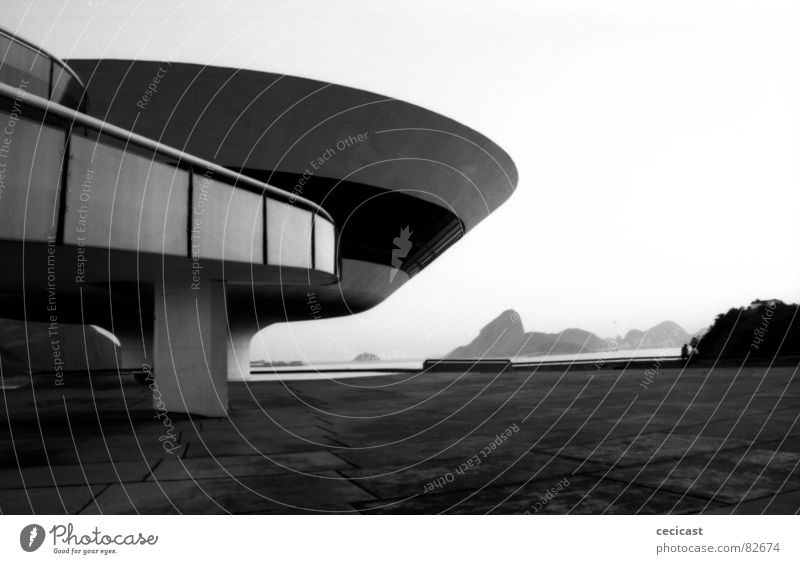 Niemayer's inspiration Rio de Janeiro Brasilien planen Fünfziger Jahre Spannung modern curves landscape perspective space architecture Inspiration imagination