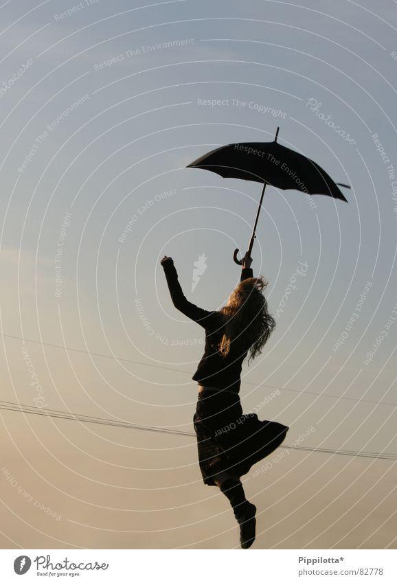 I'd never dream of it Frau Kind Himmel Mädchen Sommer Freude Leben Gefühle Freiheit Bewegung Glück Luft Wind offen gehen fliegen