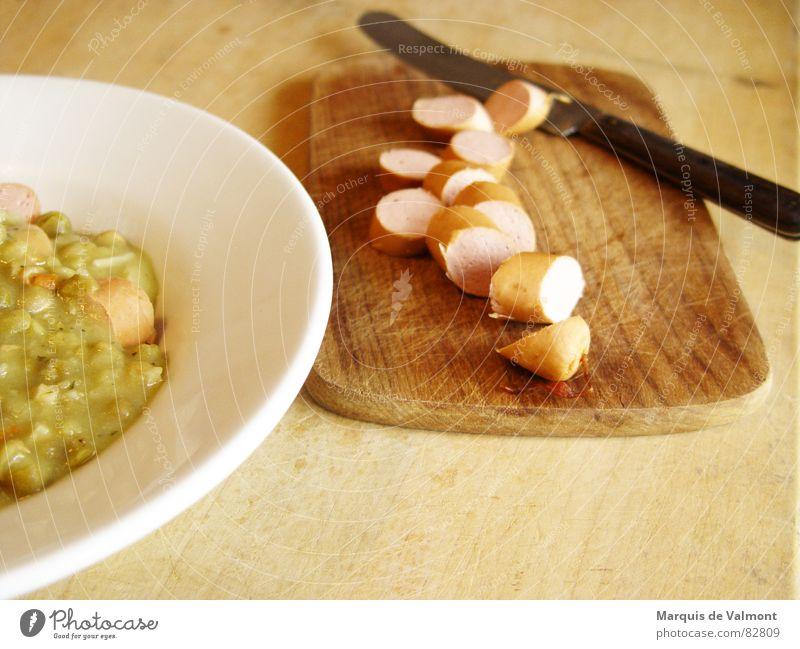 Armes Würstchen! Ernährung kalt Lebensmittel Speise glänzend Kochen & Garen & Backen Küche berühren Student heiß fantastisch Gastronomie Teile u. Stücke