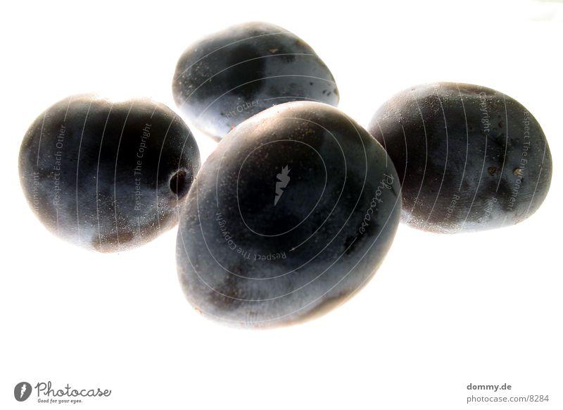 Pfläumchen blau Ernährung Gesundheit Lebensmittel Frucht violett lecker Pflaume