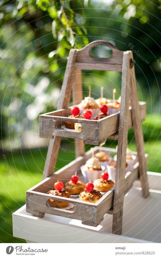 Kleinigkeiten Natur Ernährung süß Süßwaren lecker Backwaren Picknick Teigwaren Dessert Muffin Cupcake