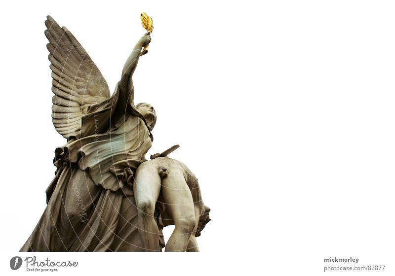 himmelfahrt Himmel Berlin Engel Statue Gott Götter dramatisch Maria Deutschland