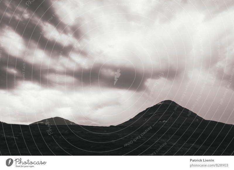 Lappland Zufriedenheit Sinnesorgane Erholung ruhig Meditation Ausflug Abenteuer Ferne Freiheit Berge u. Gebirge wandern Umwelt Natur Landschaft Urelemente Erde