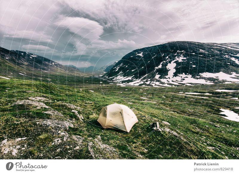 Wanderlust Himmel Natur Ferien & Urlaub & Reisen Landschaft Wolken Ferne Umwelt Berge u. Gebirge Freiheit Zufriedenheit Luft Tourismus Erde wandern Wind Ausflug