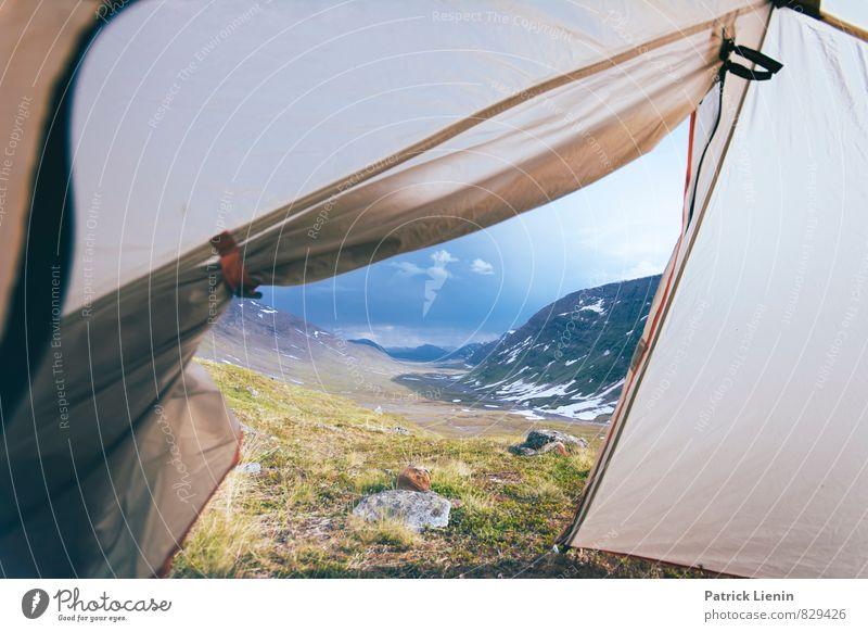 Naturbalkon Gesundheit Wellness Zufriedenheit Sinnesorgane Erholung ruhig Ferien & Urlaub & Reisen Tourismus Ausflug Abenteuer Ferne Freiheit Umwelt Landschaft