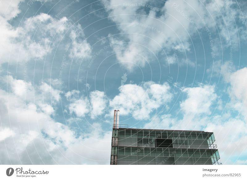 Open-swiss-sky Wolken Ferne Gebäude leer modern Schweiz innovativ