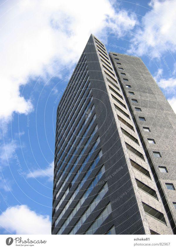 hochhaus in holland Himmel Hochhaus Fassade Niederlande