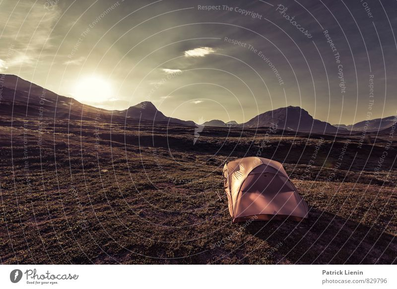 Backpackers Paradise harmonisch Wohlgefühl Zufriedenheit Sinnesorgane Erholung Ferien & Urlaub & Reisen Ausflug Abenteuer Ferne Freiheit Sommer Berge u. Gebirge