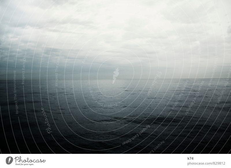 SEASCAPE SERIES - UNCERTAIN Himmel Natur blau Pflanze Wasser Meer Landschaft Wolken Ferne dunkel kalt Umwelt Traurigkeit Horizont Wetter Luft
