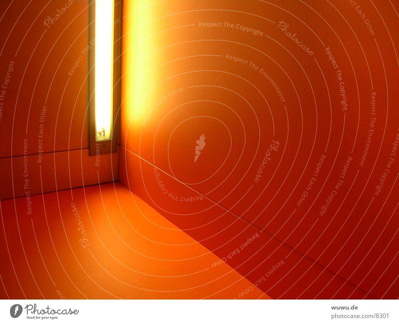 red and light rot gelb orange Architektur Neonlicht Verlauf