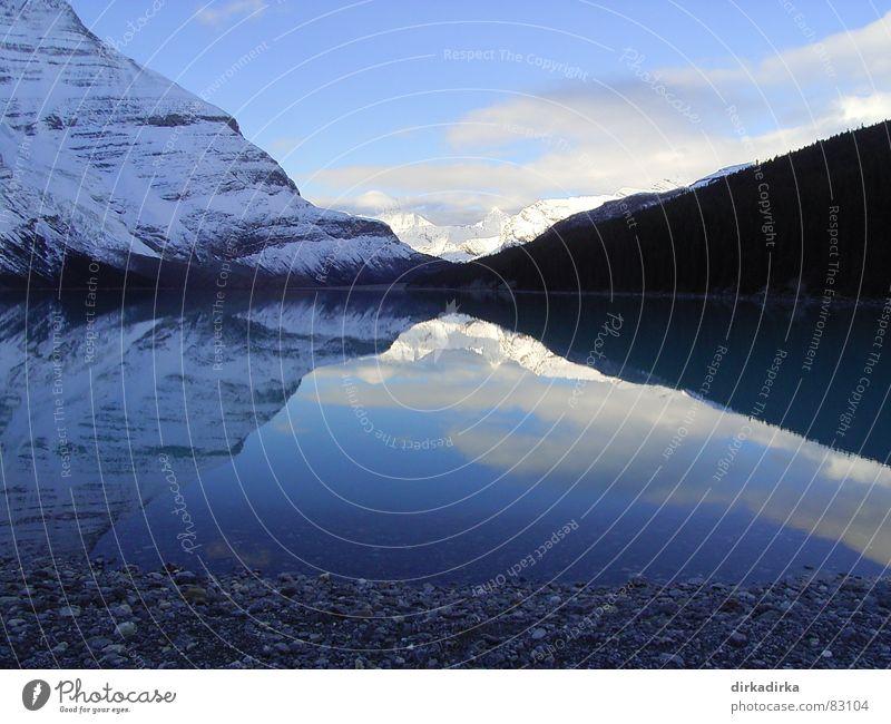 White Lake Himmel Ferien & Urlaub & Reisen Wolken Berge u. Gebirge Spiegel Idylle Gebirgssee