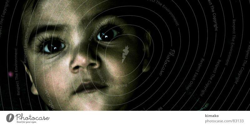 Shag 1 Kind Auge Junge Traurigkeit Trauer Kleinkind