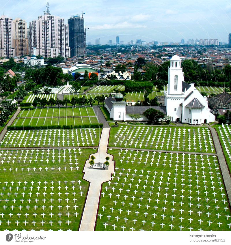 Dutch Cemetery Nationalpark Gotteshäuser Dutch East Indies city planning funeral church graveyard Museum