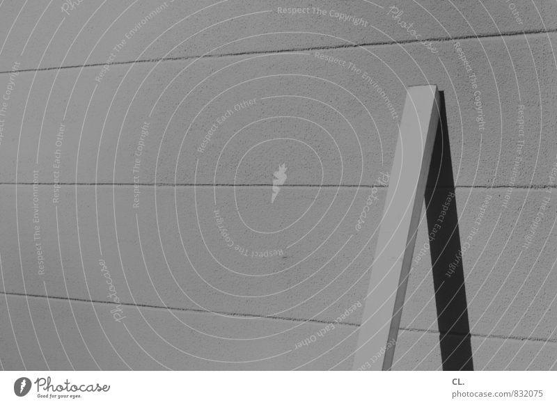 ein bild wie ein brett Arbeit & Erwerbstätigkeit Baustelle Handwerk Mauer Wand Ordnungsliebe Holzbrett Schwarzweißfoto Außenaufnahme Menschenleer