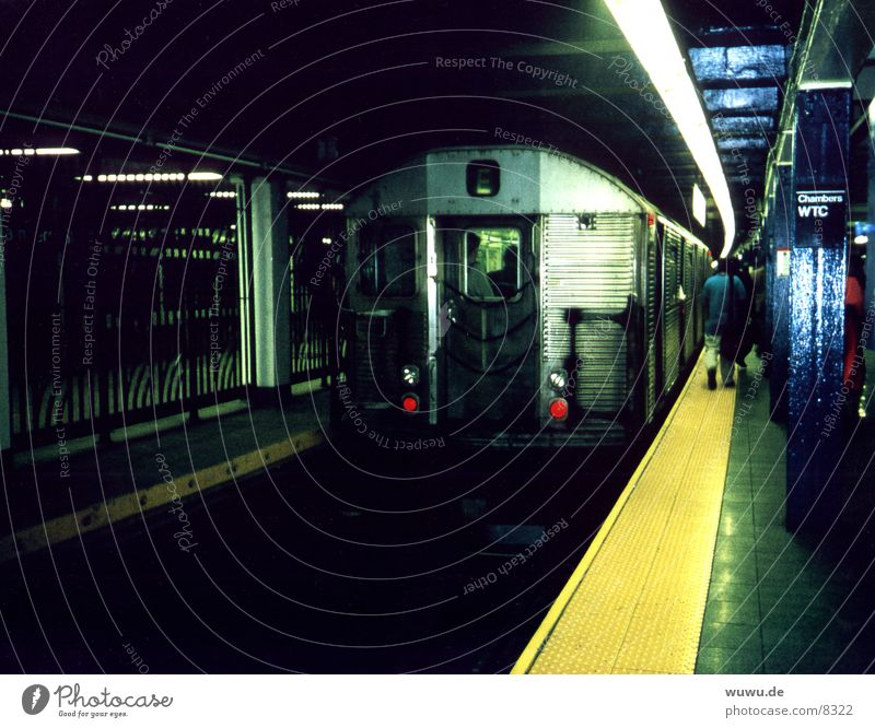 Metro WTC historisch U-Bahn New York City Manhattan