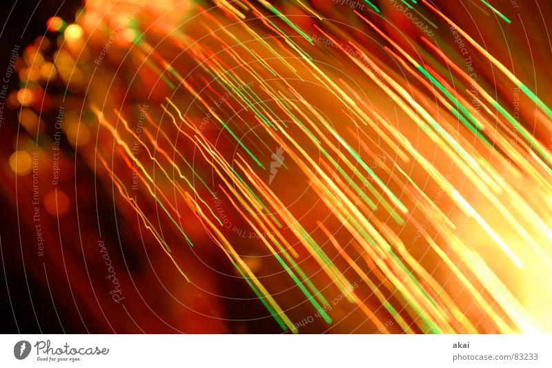 Ufo-Lichterspiel 2 Streifen Wohnzimmer Versuch Studie Belichtung Lichtspiel UFO Glasfaser Ufolampe Fernsehlampe