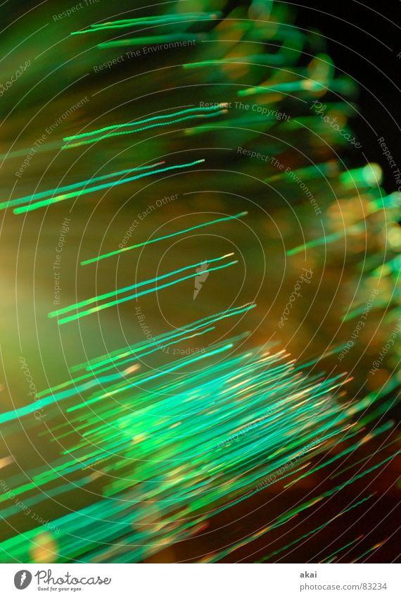 Ufo-Lichterspiel 3 Streifen Wohnzimmer Versuch Studie Belichtung Lichtspiel UFO Glasfaser Ufolampe Fernsehlampe