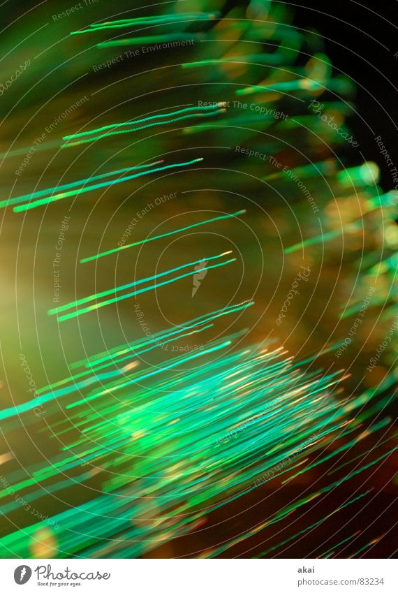 Ufo-Lichterspiel 3 Ufolampe Fernsehlampe Belichtung UFO Lichtspiel Langzeitbelichtung Experiment Streifen Glasfaser Studie Wohnzimmer streifenlicht fernsehlicht