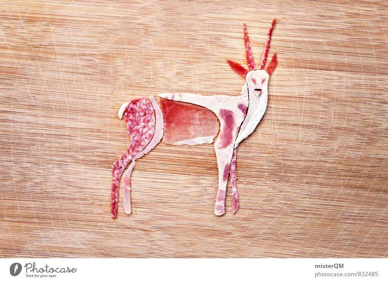 Wurstfreund. Guido Gazelle. Kunst ästhetisch Fleisch Fleischgerichte Fleischfresser Fleischesser Fleischskandal Fleischwurst Wurstwaren Wurstherstellung