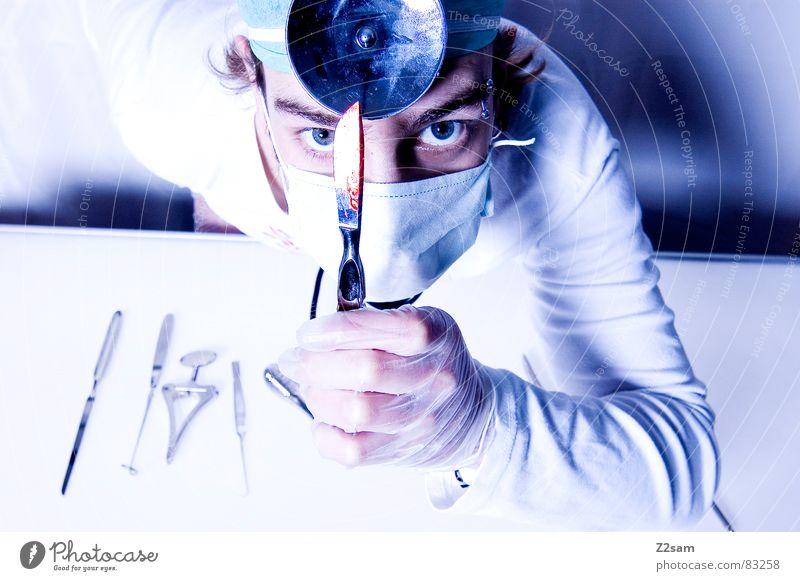"""doctor """"kuddl"""" - skalpell 5 Skalpell Arzt Krankenhaus Chirurg Gesundheitswesen Mundschutz Spiegel Handschuhe Operation geschnitten Werkzeug sterill schutzhaube"""